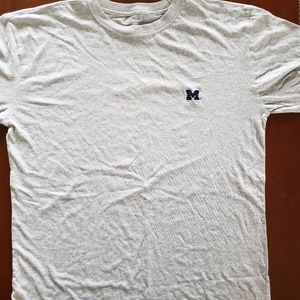 Michigan Wolverines gray tshirt M